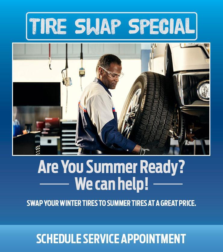 Tire swap special