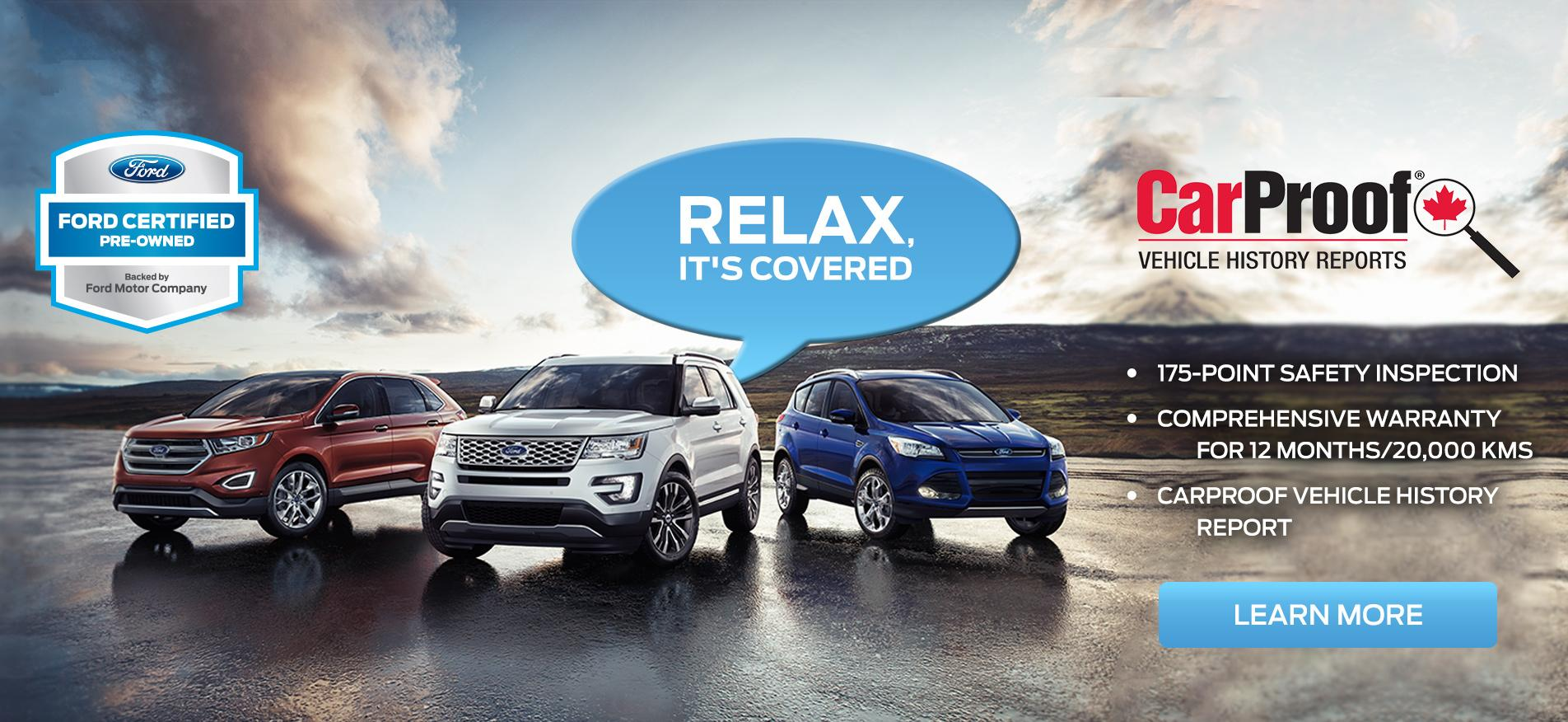 Ford Certified Pre-Owned Cars SUVs and Trucks at Merlin Ford Saskatoon