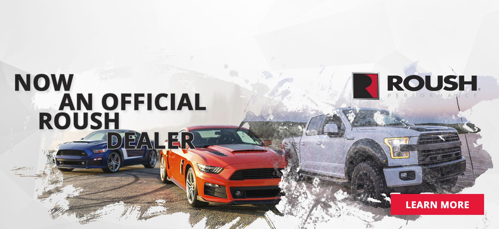 Official Roush Dealer
