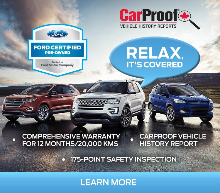 Certified Pre-Owned Ford Cars SUVs and Trucks at Merlin Ford Saskatoon