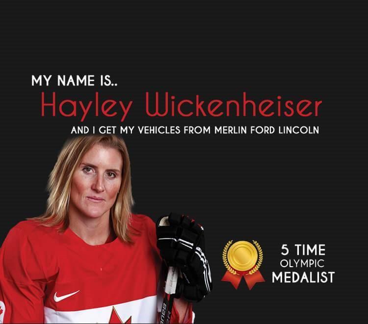 Hayley Wickenheiser - Merlin Ford