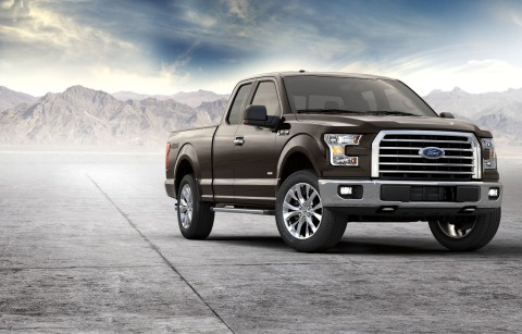 All-new 2017 Ford F-150 XLT