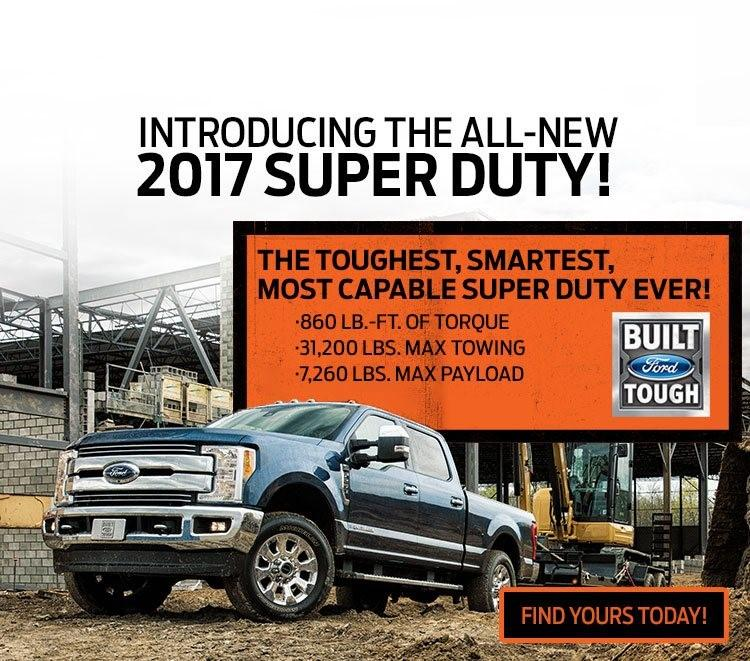 Introducing the all-new 2017 Ford Super Duty
