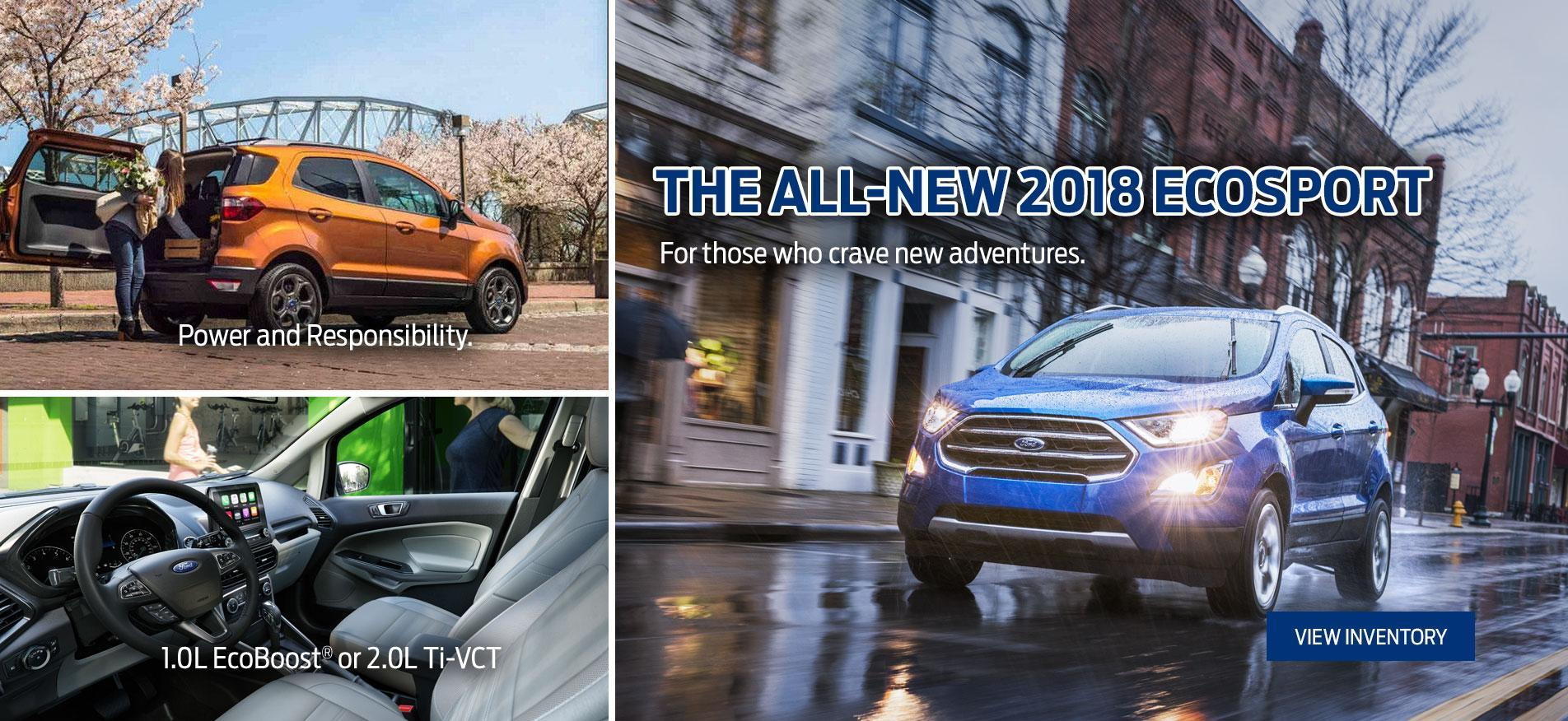 Introducing the all-new 2018 Ford Ecosport Merlin Ford Saskatoon