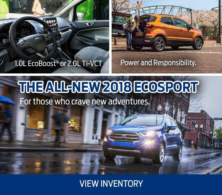 Introducing the all-new 2018 Ecosport Merlin Ford Saskatoon