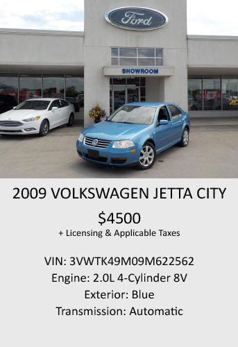 2009 Volkswagen Jetta City