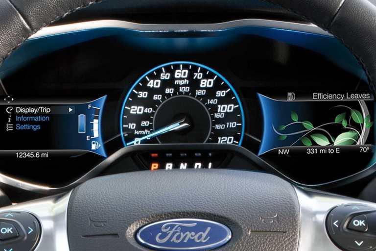 2017 Ford C-Max Interior