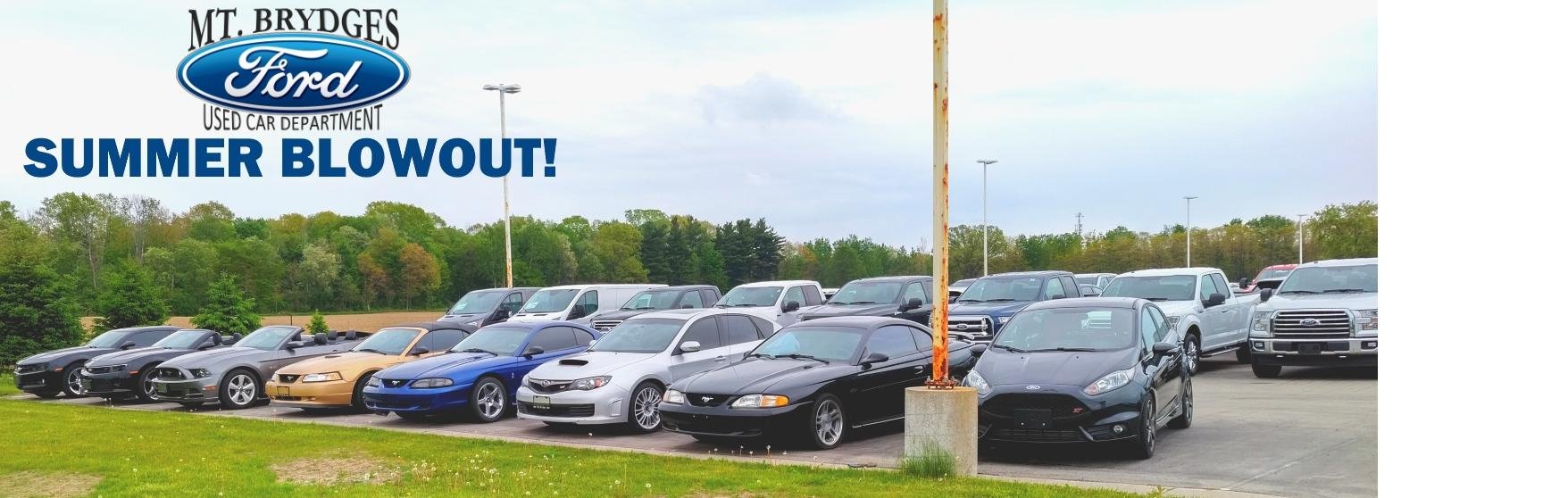 Mt Brydges Ford 2017 Summer Blowout