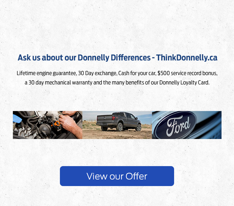 Donnelly Ford Lincoln - Donnelly Difference