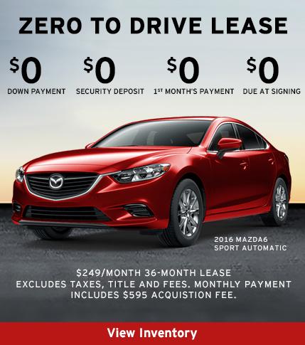 2016 Mazda6 Sport Lease