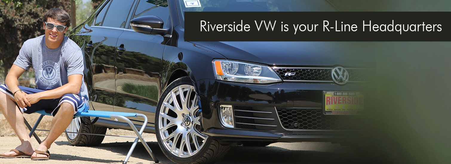 Riverside VW is your R-Line Headquarters