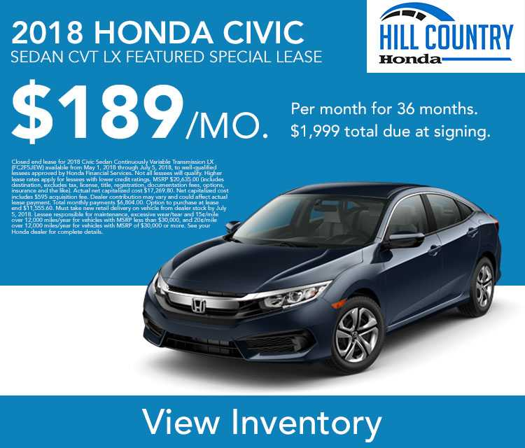 Civic Lease Offer