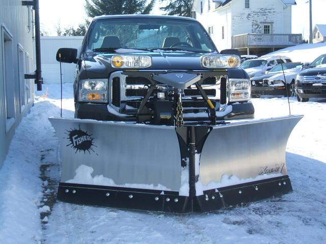 Ford Snow Plows and Sanders image