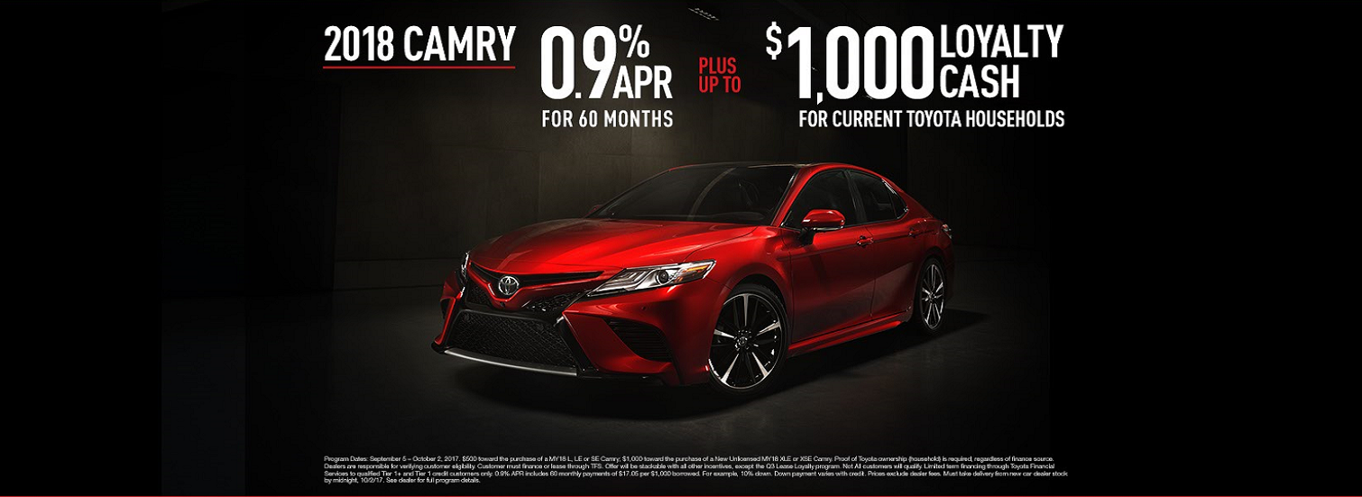 2018 Toyota Camry Special