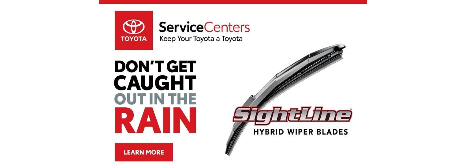 Toyota Sightline Wiper Blades Specials