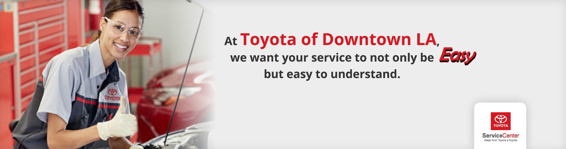 Toyota Vehicle Services In LA
