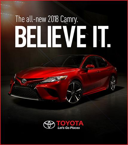 All New 2018 Toyota Camry