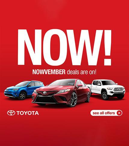 Toyota November Deals