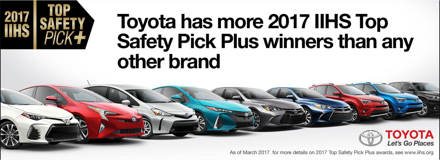 Toyota 2017 Top Safety Pick Specials