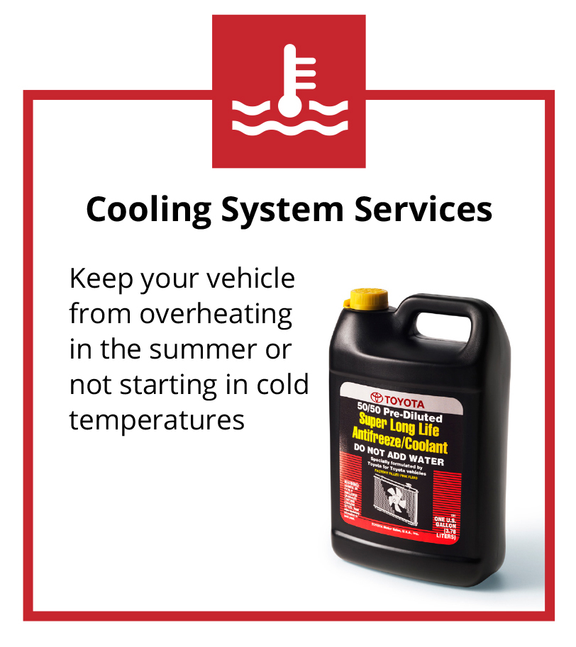 Toyota Cooling System Services In LA