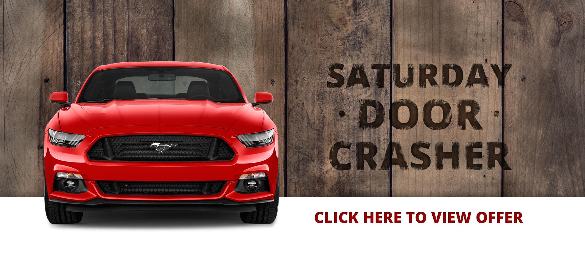 Saturday Door Crasher