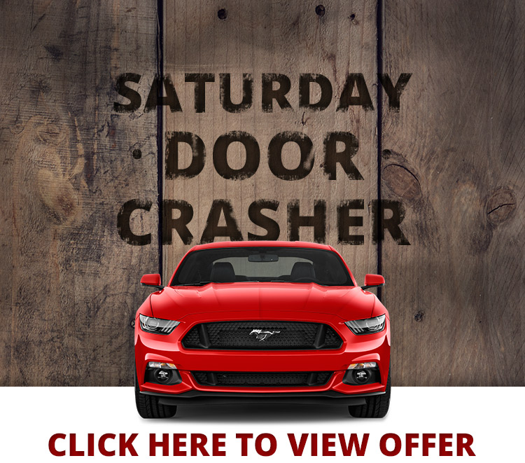 Saturday Door Crasher