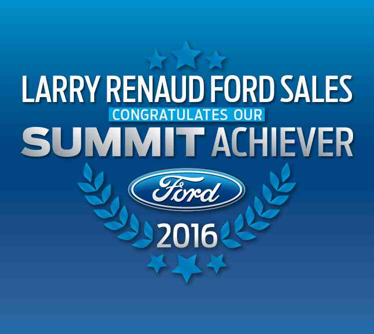 Summit achiever Larry Renaud Ford