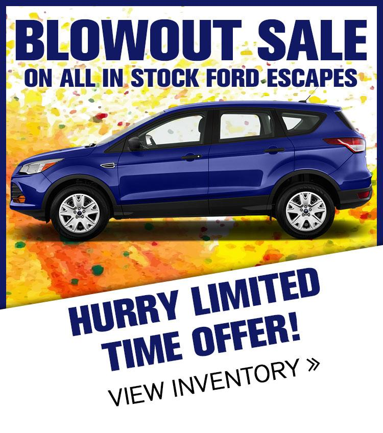 2016 Escape Clearance