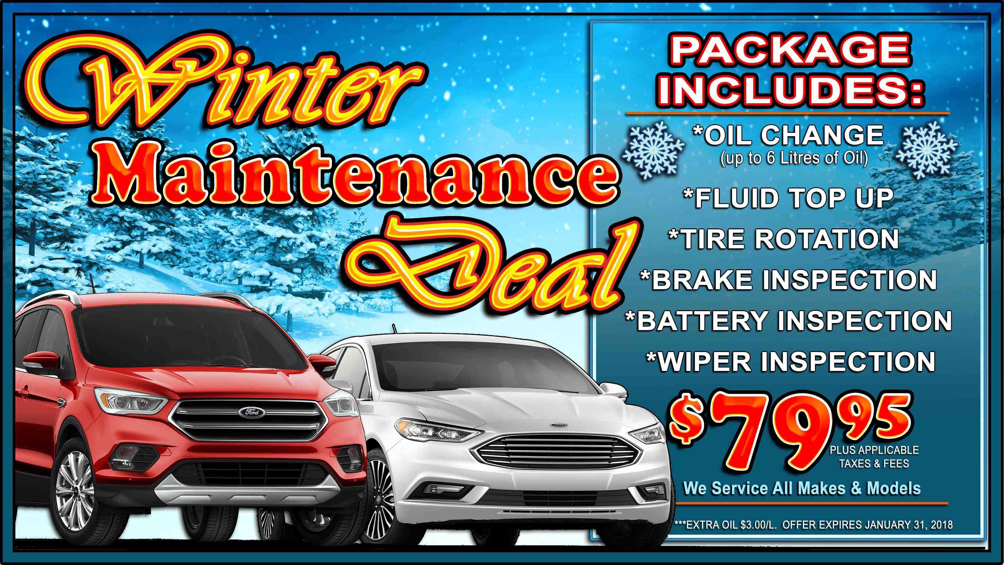 December Service Offers