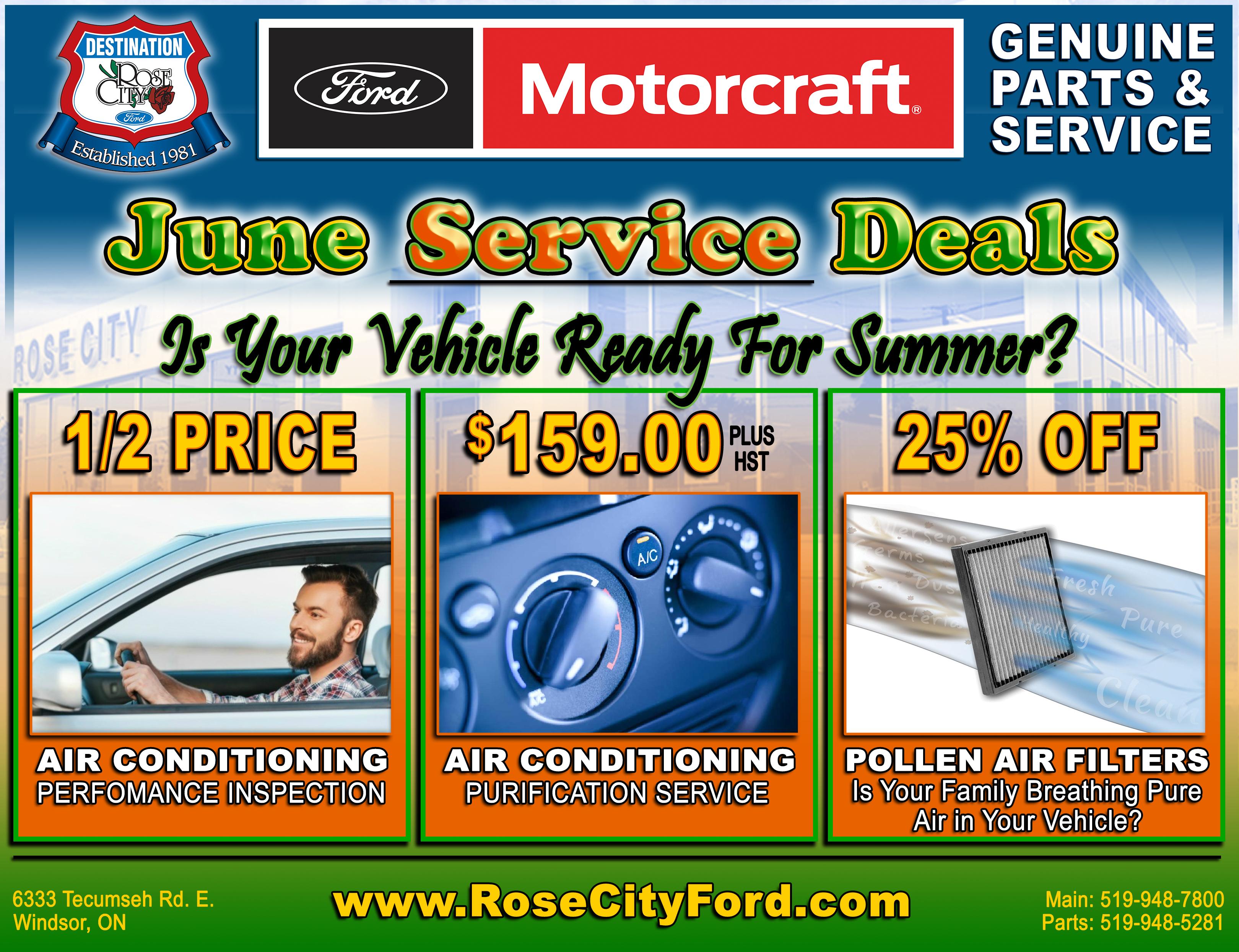 June Service Deals