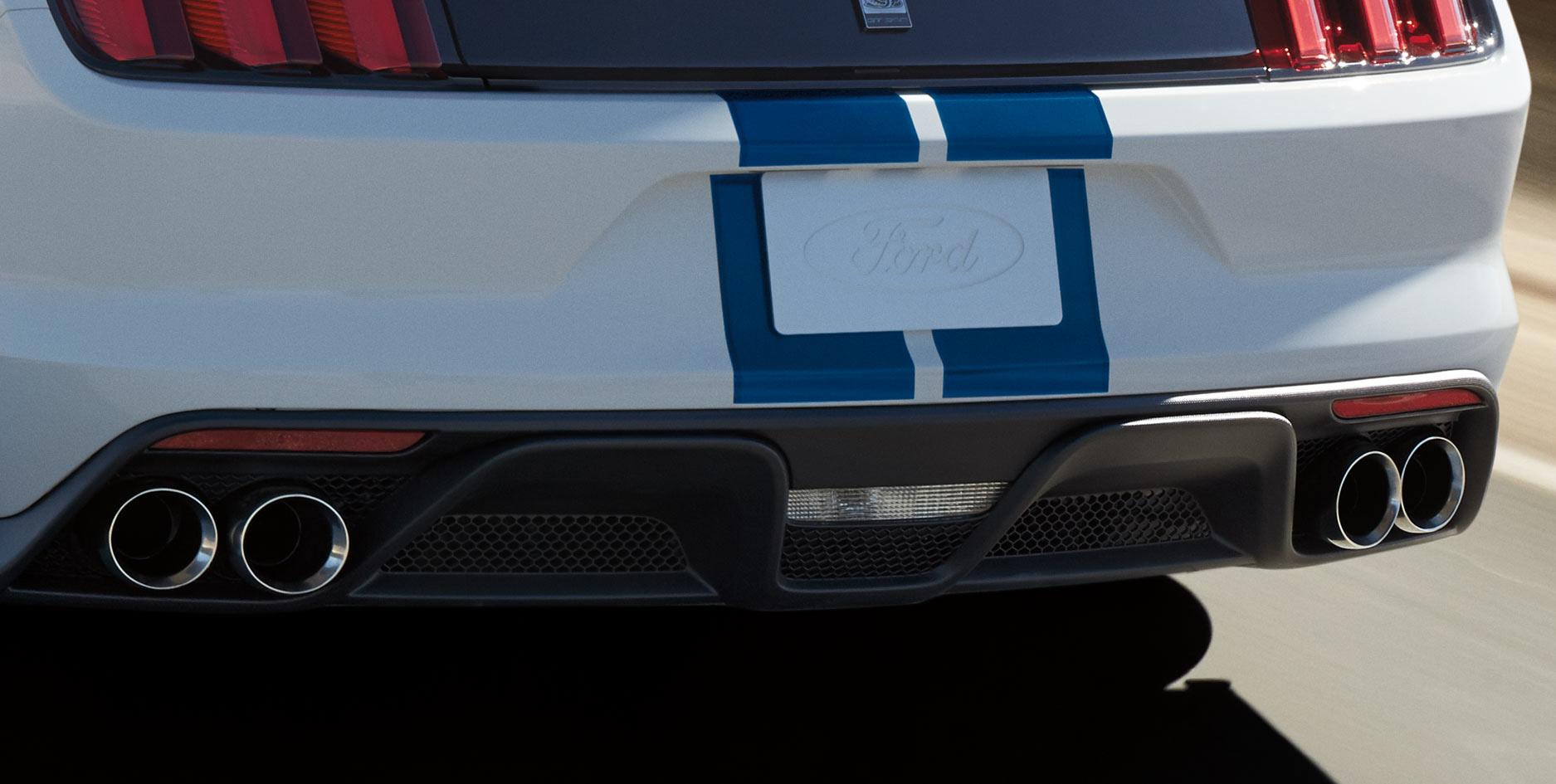Shelby GT350 Quad Exhaust
