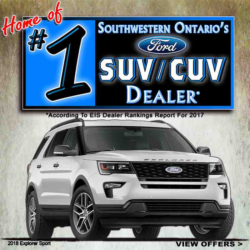 #1 Ford SUV CUV Dealer