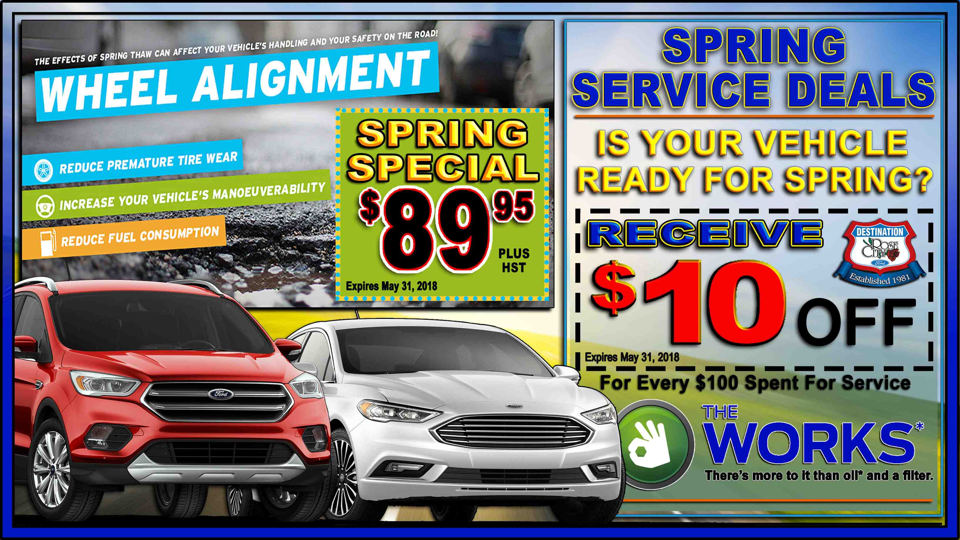 Spring Service Offers