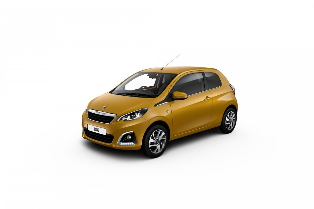 Going For Gold With The Peugeot 108