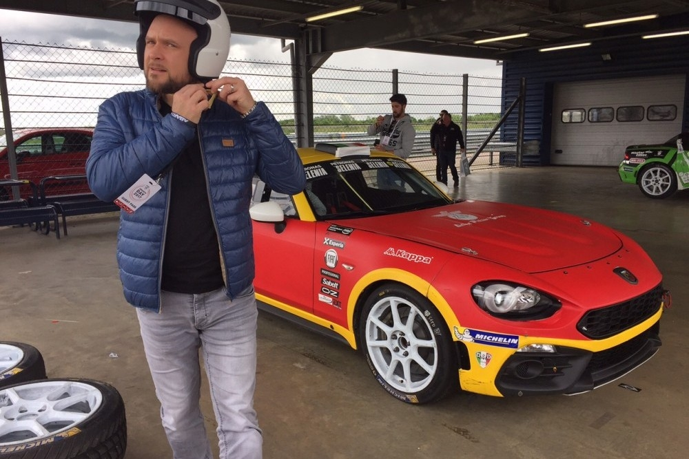 Abarth Day At Rockingham Speedway