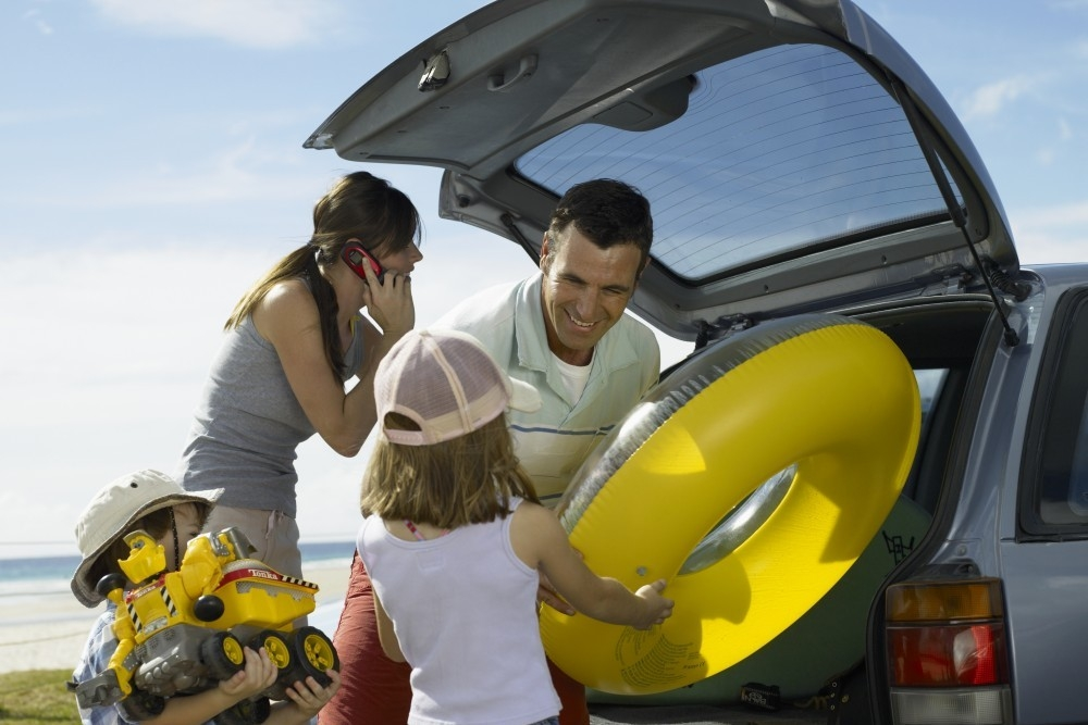 Kids and parents bond best in car