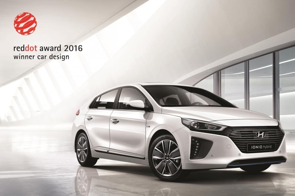 Hyundai IONIQ Receives Red Dot Design Award