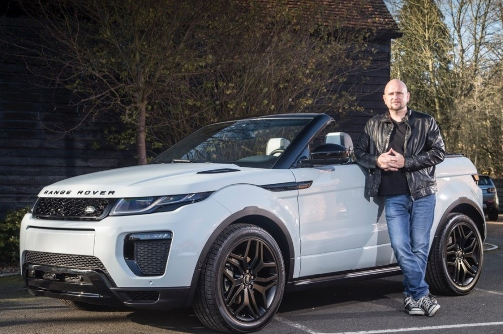 Exclusive Access To Range Rover Evoque Convertible
