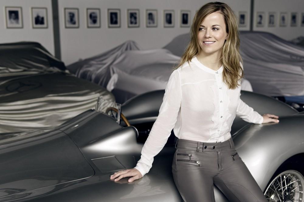 Susie Wolff Will be at Autosport International