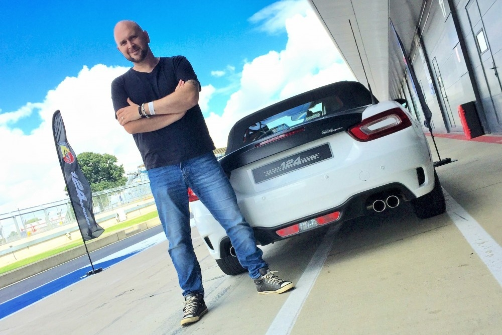 New Abarth 124 Spider Powers Ahead