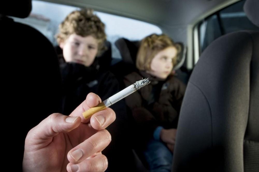 Smoking harms your car's health too