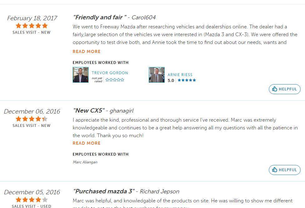 Certified Dealer Reviews