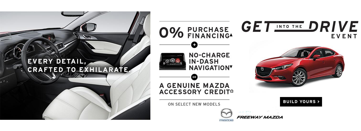 Freeway Mazda - Get into the Drive Event