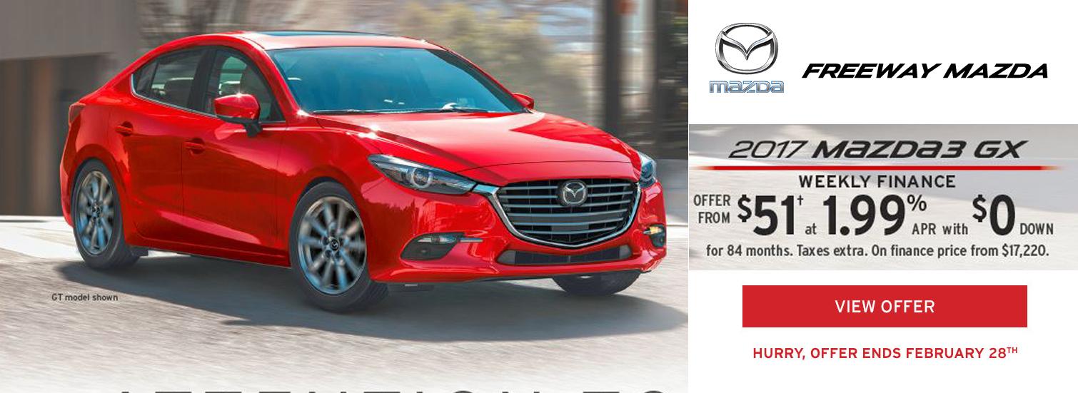 2017 Mazda 3 GX