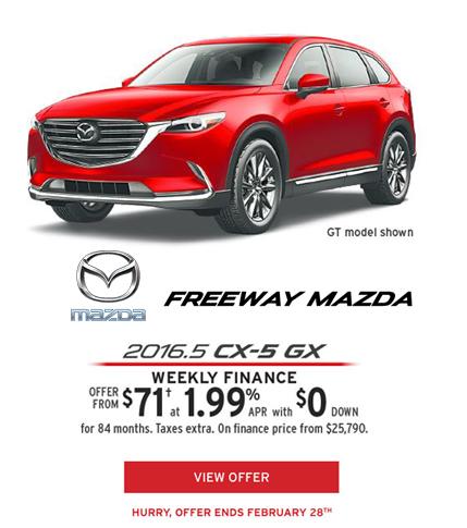 2016.5 Mazda GX-5