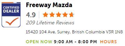 Freeway Mazda Lifetime Reviews