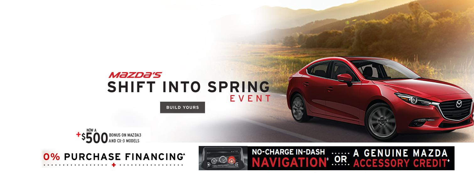 Mazda's Shift Into Spring Event