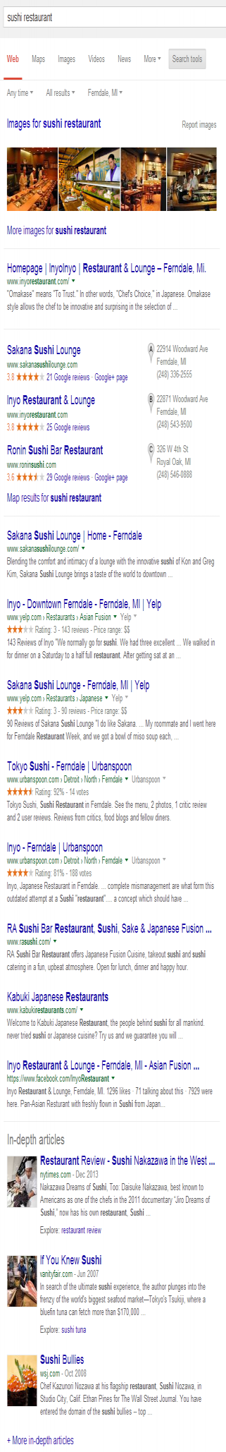 Google_Search_Ferndale_Sushi