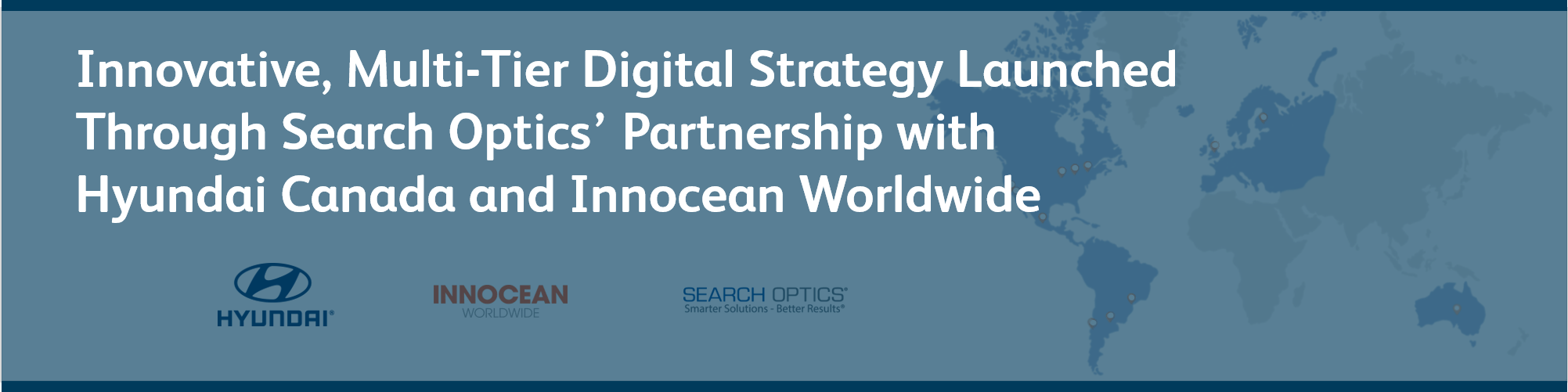 Innovative, Multi-Tier Digital Strategy Launched Through Search Optics' Partnership with Hyundai Canada and Innocean Worldwide