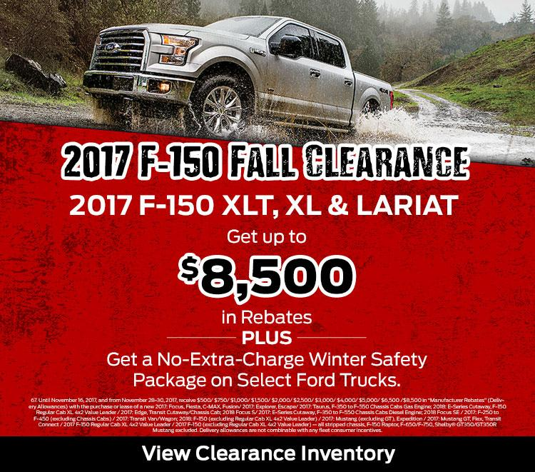 2017 F-150 Clearance Regal Motors Rosetown